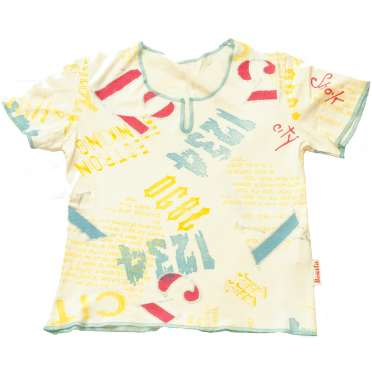 Блуза трико Буквите