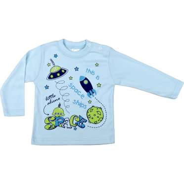 Бебешка блузка Космос