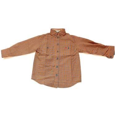 Карирана детска риза