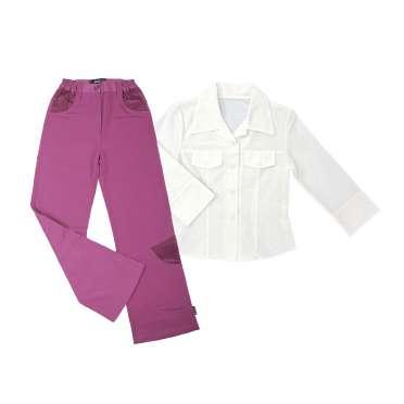 Официален панталон + бяла ризка