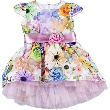 Официална рокля Сани в розово