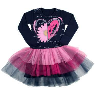 Официална рокля Сърце