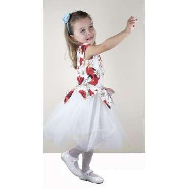 Официална рокля Маргаритки в екрю