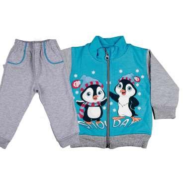 Бебешки комплект Пингвини