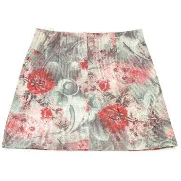 Дънкова пола на цветя