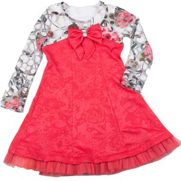 Детска рокля Марти корал