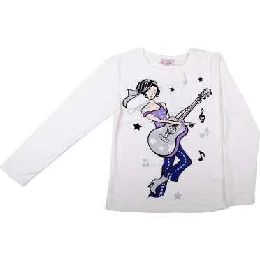 Блуза Момиче с китара