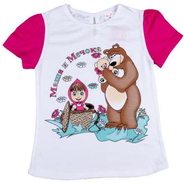 Тениска Маша и Мечока